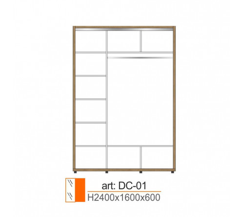 Dulap Cupe DC-01
