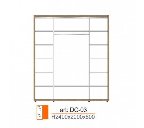Dulap Cupe DC-03
