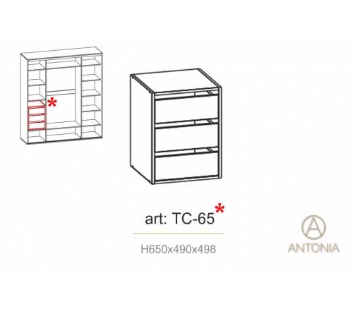 Modul cu sertari Infinity TC-65